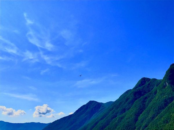 Blue Beauty In Nature Nature Tranquil Scene Sky Scenics Mountain Range Tranquility Outdoors No People Day The Great Outdoors - 2018 EyeEm Awards