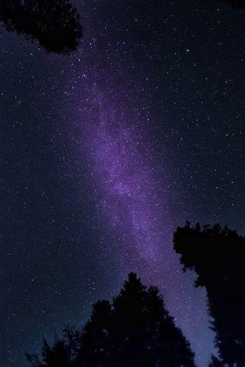 Stars behind