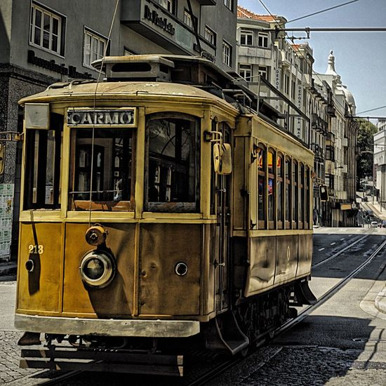 Portugal Porto City Travel Photography Tram Tramway HDR Vol 1 Old But Awesome Moody No People Wagon  Taking You On My Journey 😎 43 Golden Moments, Streetphotography Special👌shot EyeEm Gallery EyeEm Best Shots EyeEm Best Edits Fresh On Eyeem
