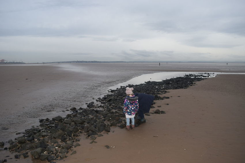 Beach Crosby Beach Old Bricks Archeology Rocks 5000 Years Old? Out For A Walk Enjoying Life Having Fun Sand Unusual