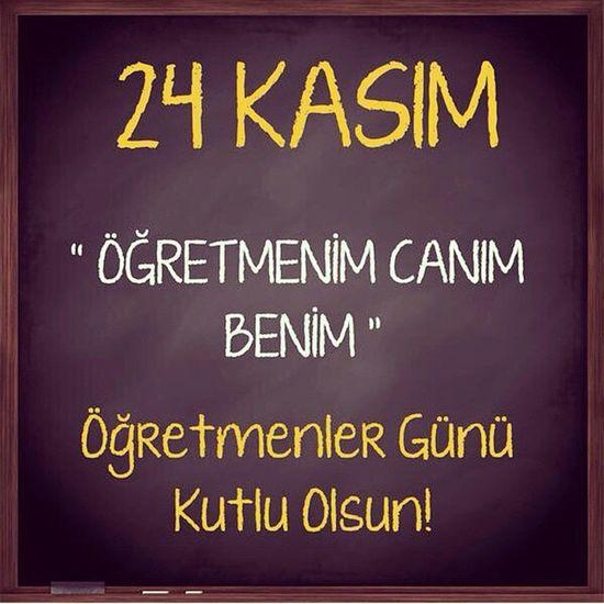 """""""Dünyanın her tarafında öğretmenler, insan topluluğunun en fedakar ve muhterem unsurlarıdır."""" M.K.Atatürk Tüm ögretmenlerimizin Öğretmenler Günü kutlu olsun! 24kasim Ogretmenlergunu Ogretmenlergunu Basogretmen"""