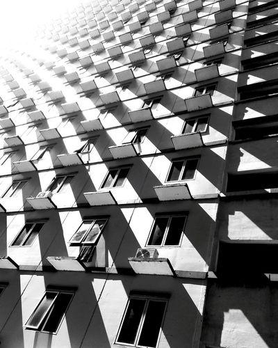 Light up the dark Blackandwhite Architecture Artchitecture Pattern, Texture, Shape And Form Pattern Black&white Architecture_bw Bandung The Architect - 2016 EyeEm Awards