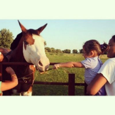 First time in South Dakota with lil Losaline ♥ Summer09 PricelessMoment VisitingFamily