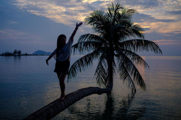 The bent palm