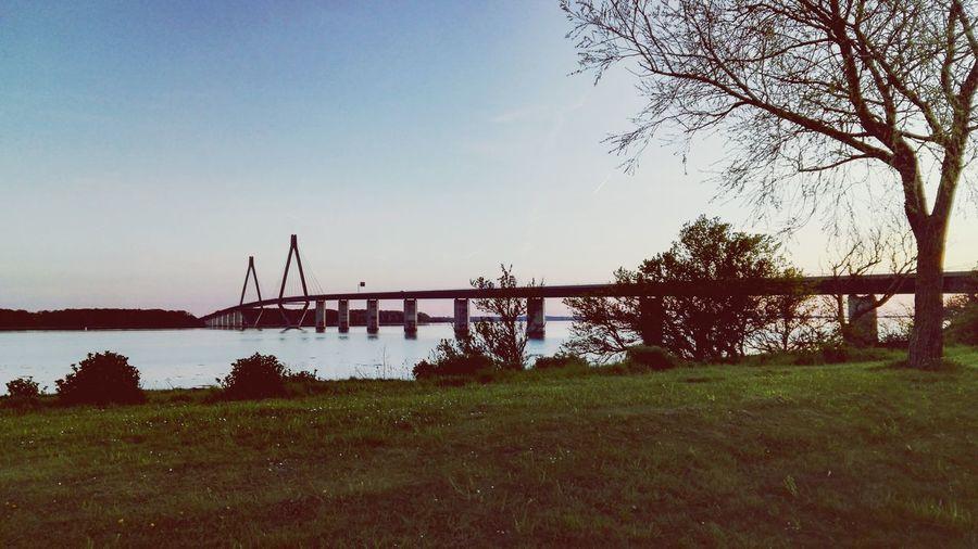 Sometimes ends not so bad Bridge Nature Enjoying Life Sky Beautiful Water Relaxing