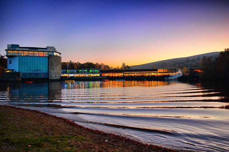 Balloch Balloch Park Eyeem Scotland  Lomond Shores Scotland Swan Swans View Of Lomond Shores