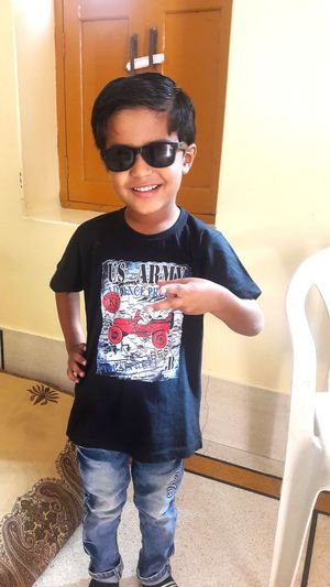 naman's style Kid's Style EyeEm Selects Fashion Stories Child Children Only Childhood Boys One Boy Only Casual Clothing Front View First Eyeem Photo