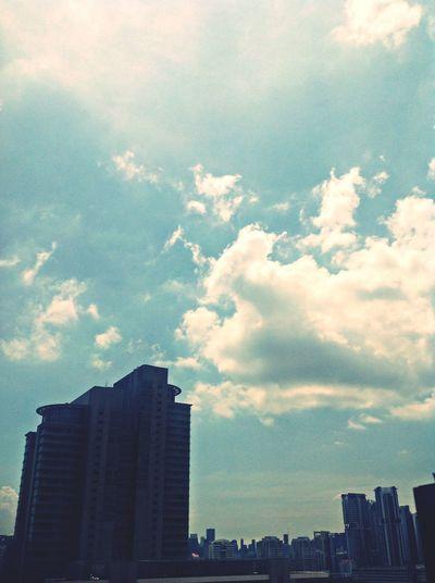 Clouds ... Hello World