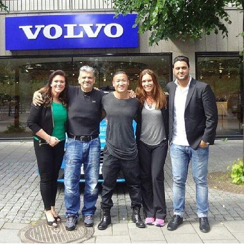 Presskonferens TV4 Biggestlooser Sjuan VolvoCarsShowroom Stockholm Sweden Martennylen Malinnylen teamnylen
