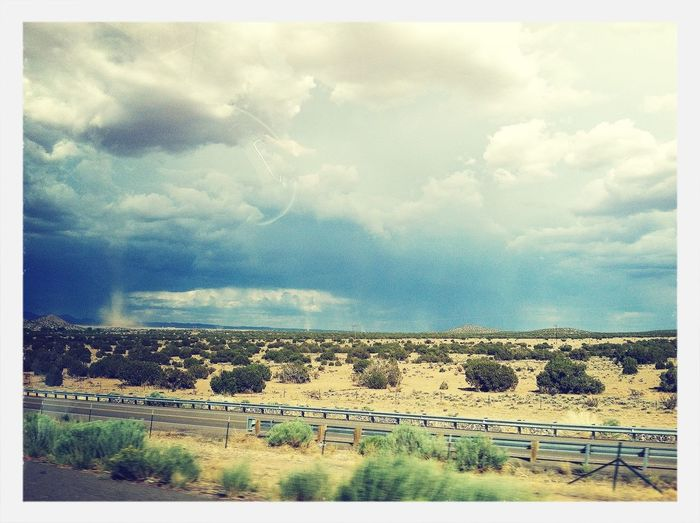Monsoon season in New Mexico.