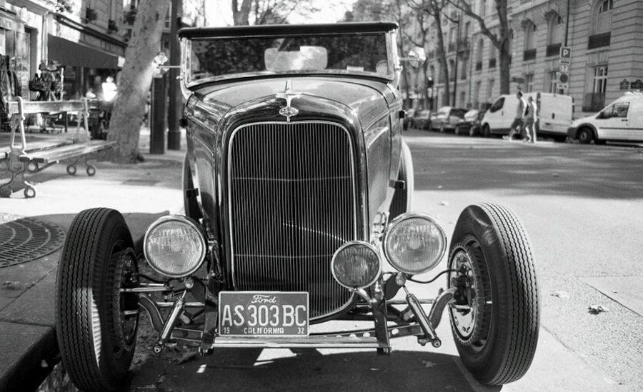 Streetphotography Blackandwhite Nikon Vintage Cars Ford Voiture Retro