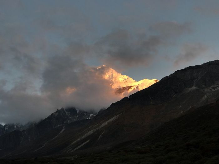Mount Pandim Mountain Nature Beauty In Nature Sky Scenics Landscape No People Tranquil Scene Cloud - Sky Mountain Range Tranquility Outdoors Day