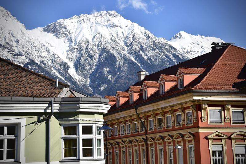 Architecture Austria Colors Innsbruck Mountain Outdoors Snow Winter