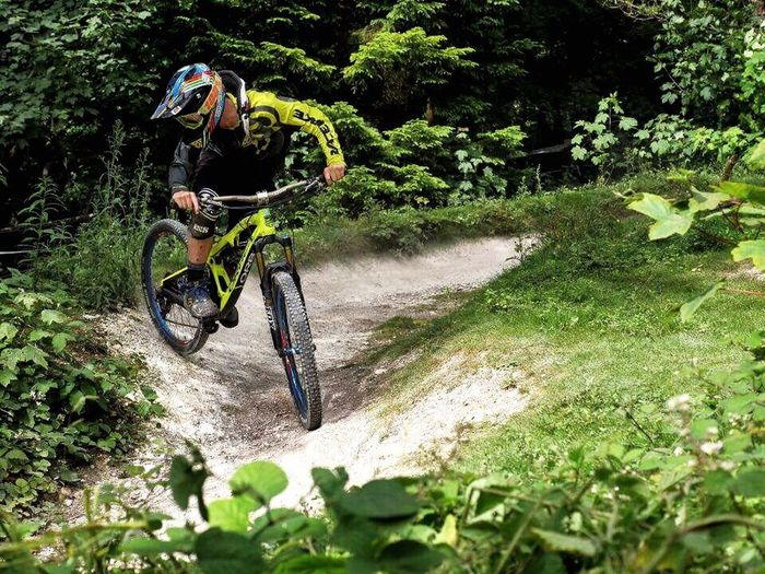 Taking my orbea rallon sideways at Tidworth MTB MTB ADVENTURE MTB Biking Downhill Enduromtb Enduro Raceface Oneal Hobby Chill