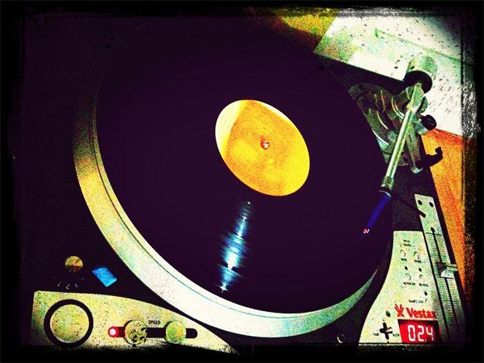 Listening To Music Vinyl Spinning Vinyl DJ Krush