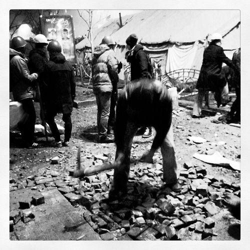 Так делается революция Maidanlive Kiev Lifenews