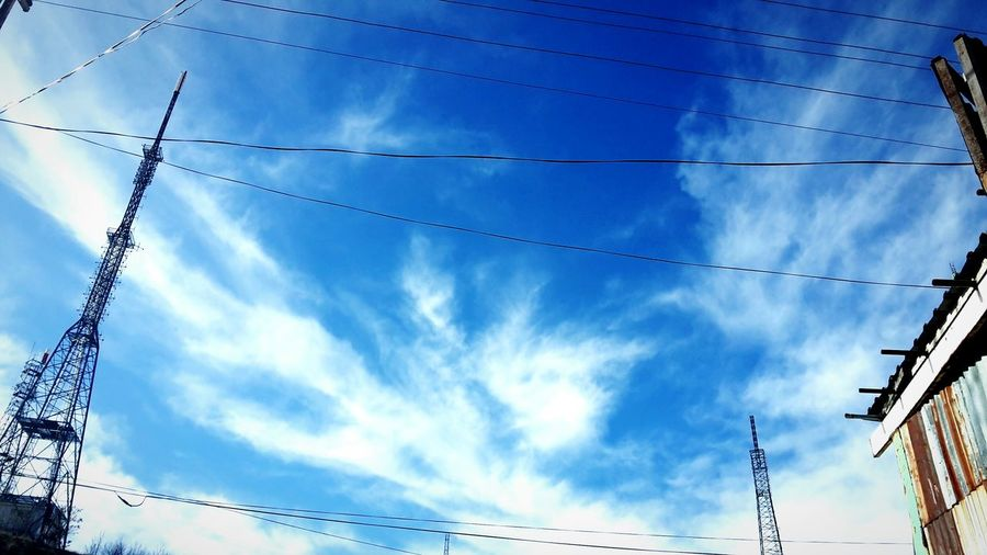 Nice Day 🙌😄 Air Azure Sky The Amazing Sky Heavenly Sky