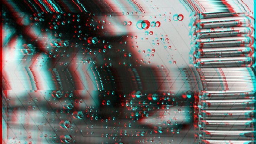Glitch Experiment Rainy Days