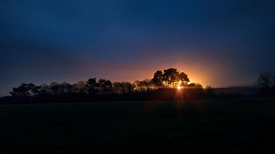 the begining Night Lights Nightphotography Sunlight Taking Photos Taking Pictures Beauty In Nature Countryside Day Eye4photography  Field Getting Inspired Landscape Nature No People Outdoors Scenics Silhouette Sky Sun Sunlight Sunrise Sunset Tranquil Scene Tranquility Tree