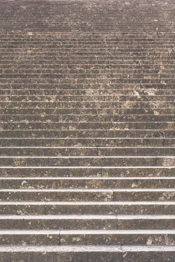 Full Frame Shot Of Stone Steps