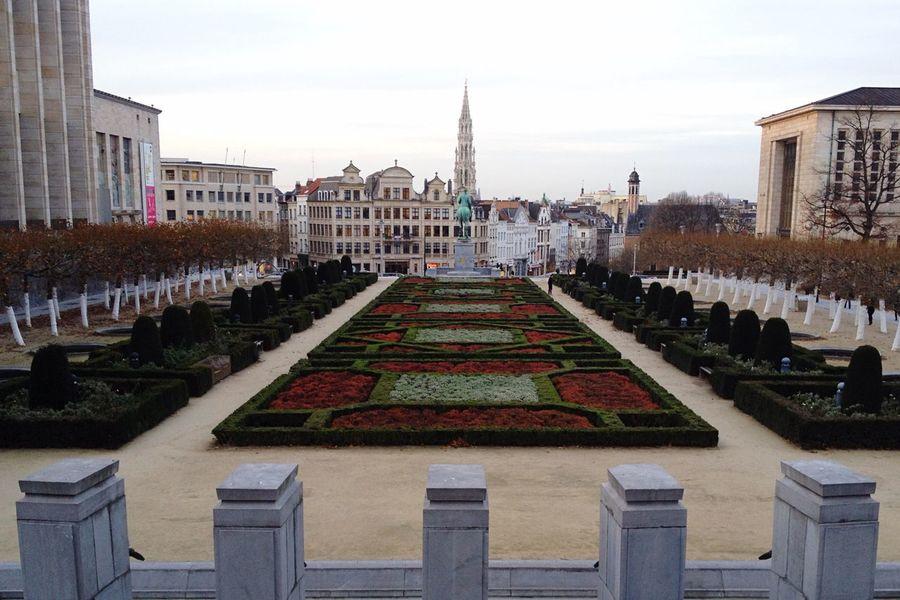 Montdesarts Kunstberg Brussels Bruxelles Bruxelles-Capital Belgium Nice View Autumn Lovely IPhone 4S