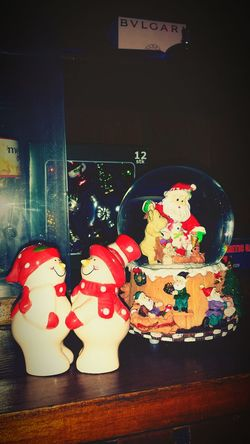 Snowman Christmastime Saltandpepper