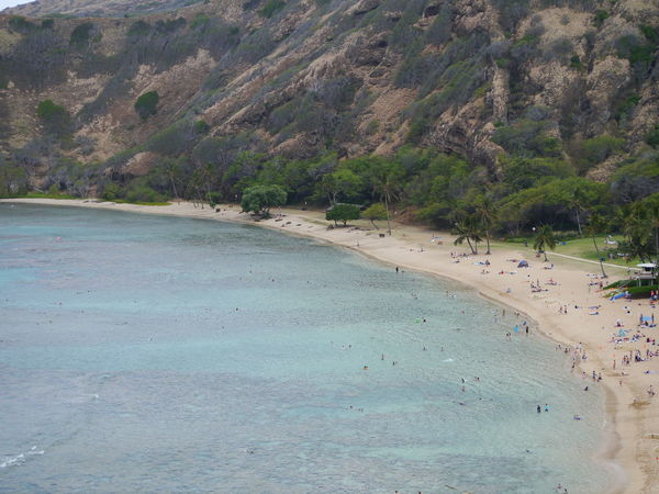 Beauty In Nature Coastline Day Hanauma Bay Hanauma Bay State Park Hawaii Idyllic Mountain Nature Non Urban Scene Non-urban Scene Outdoors Remote Scenics Sea Sky Tatonic Plate Tranquil Scene Tranquility Water