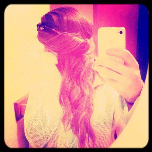Curling my hair