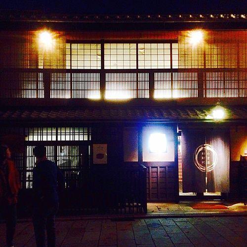 Kyoto Japan Gion Kawaramachi Night 京都 日本 祇園 河原町 町並み