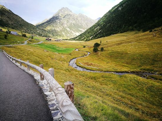 Landscape Mountain Agriculture Field Outdoors Nature Rural Scene Beauty In Nature Andorra🇦🇩 No People Lost In The Landscape Perspectives On Nature