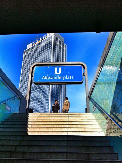 Walking around at Alexanderplatz Walking Around