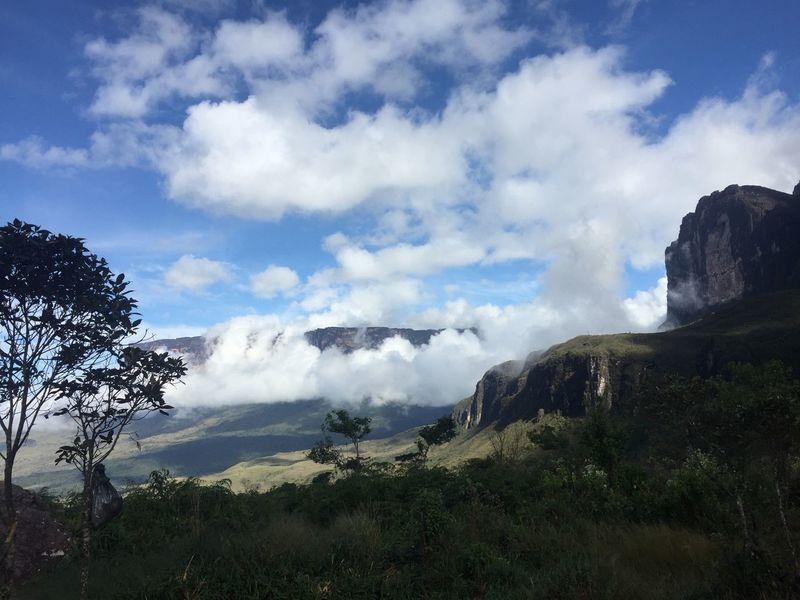 Splendorous Roraima Mountain Cloud Gran Sabana Tepuy Roraima Cloud - Sky