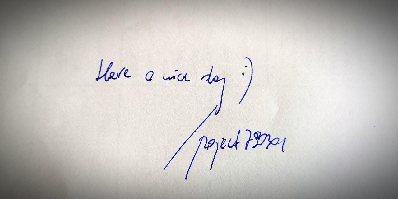 Have a nice day 😊 💢🐾🐜 Zle_slowa_w_dobrej_duszy Project790301 Nasirlnd Umysł Mysl Dobryduch Mocduszy Wemnie Wnas Poland Polska Brain Blowmind Inme Onlytrue Paper Handwriting  Love Letter Written Board Text Western Script Envelope Valentine Card Note Ink Well