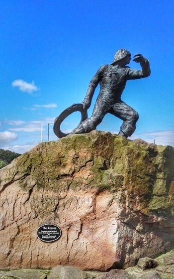 Public Sculpture Lifeboat RNLI
