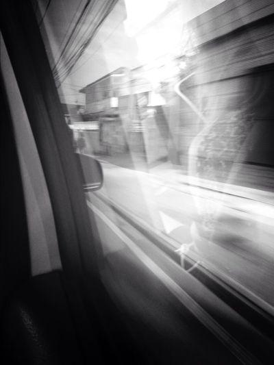 Janela do carro Velocidade -