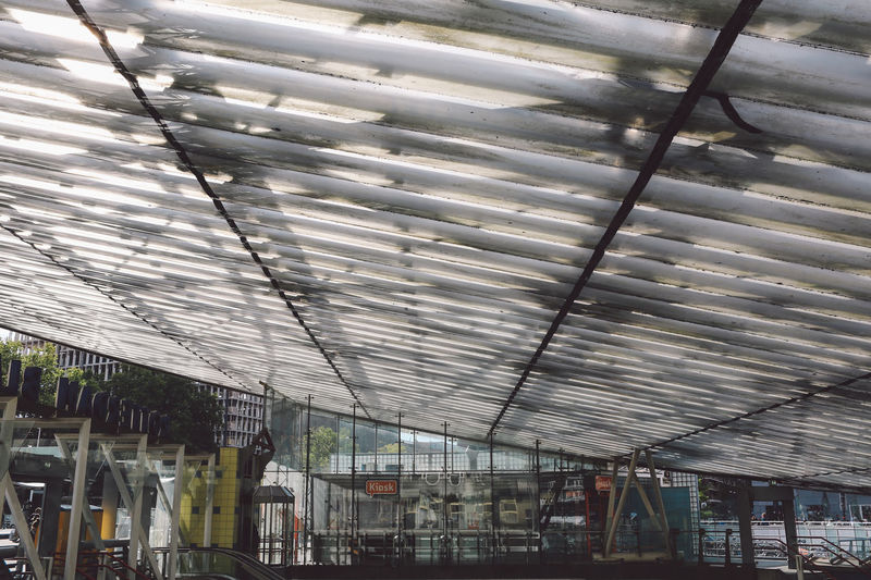 Architecture Built Structure Day Glass Greenhouse Indoors  Light Metro Station Nature No People Plant Nursery Roof Sun The City Light