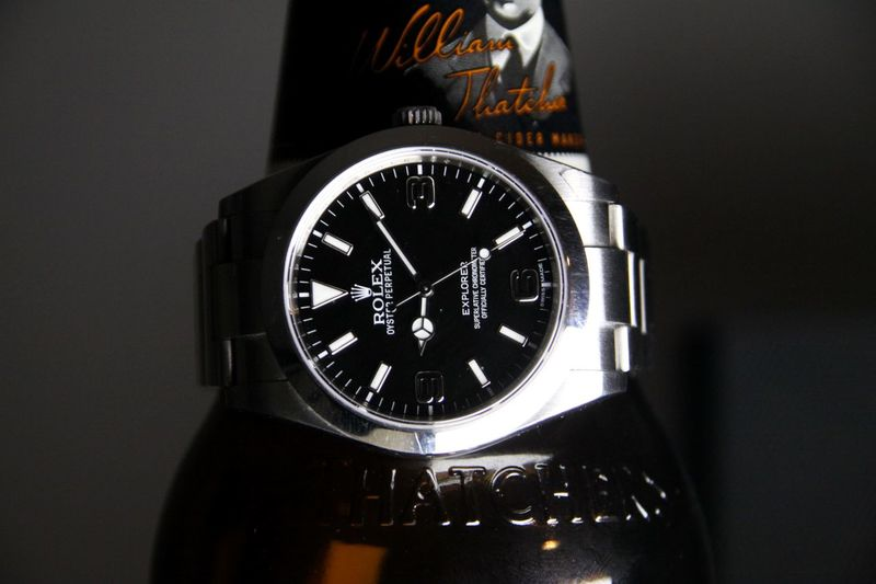Macro Bottle Cider Rolex Time Number No People Clock Old-fashioned Close-up Retro Styled Watch Clock Face Wristwatch Minute Hand Indoors  Day