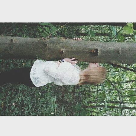 me girl blond 15 kiss the tree
