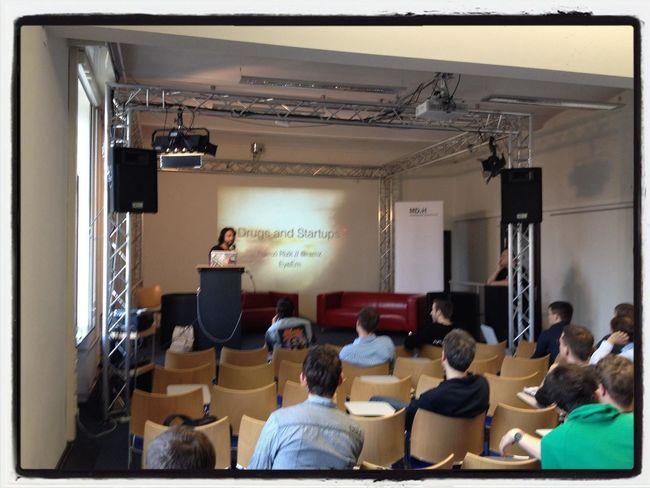 @ramz presenting at Startup Camp 2012 @ramz Presenting