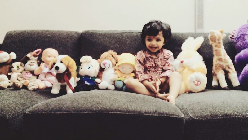Doll's Dolls With My Daughter Love ♥ Kuwait❤