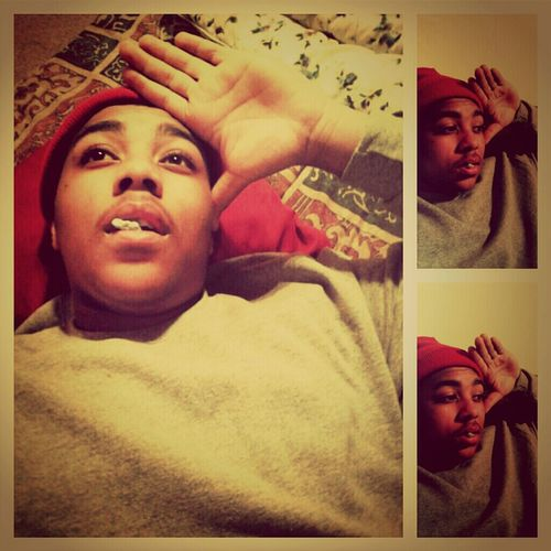 chillin laying down♥