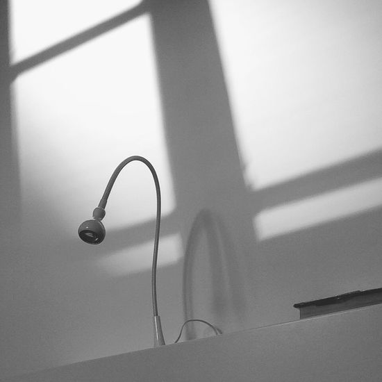 Low-Angle View Of Desk Lamp
