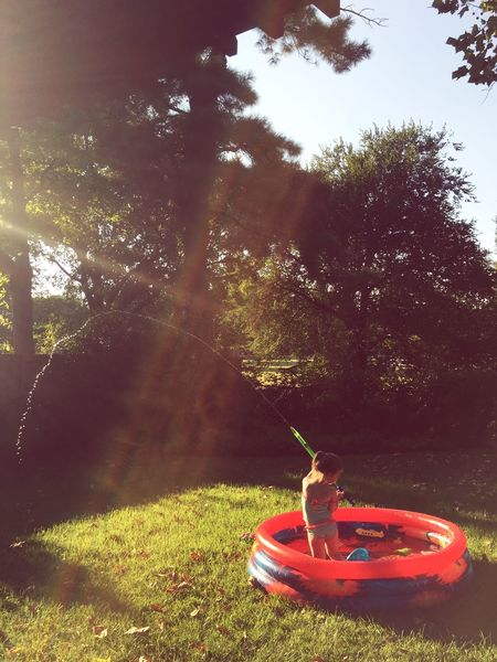 Kiddiepool Water Backyard
