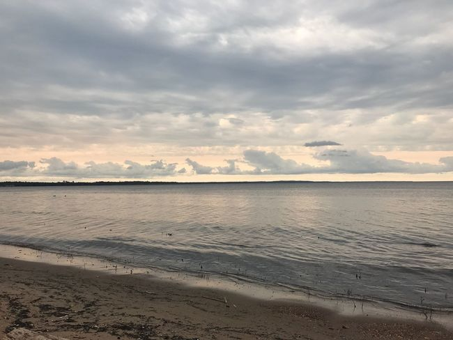 Water Nature Tranquility Beauty In Nature Sky Beach Tranquil Scene Sea Scenics Sand Cloud - Sky No People Outdoors Day Horizon Over Water Sunset