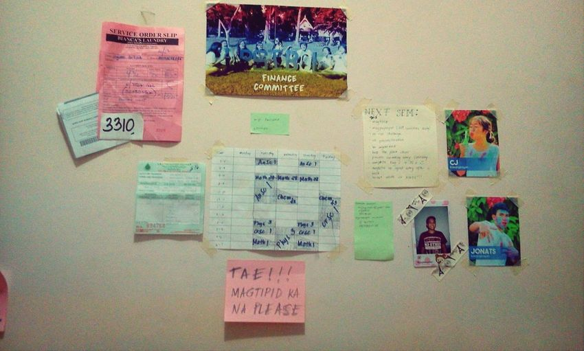 Welcome to my wall :)