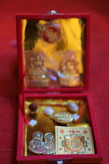 Close-up of buddha