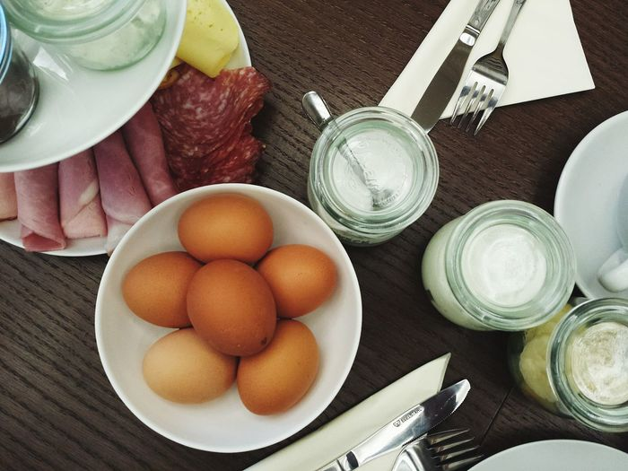Eier gehen immer...🐣🐣🐣brunch with friends 👍 My Winter Favorites Food Eggs Eggciting Mealtime Enyoing A Meal Desks From Above Dishes