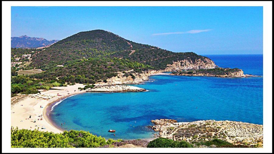 Chia Sardinia life is a beach Sea Enjoying The Sun Sunshine