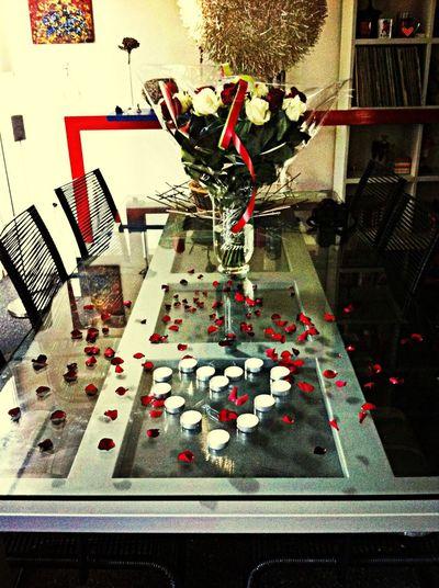 Romance Happy He's Home