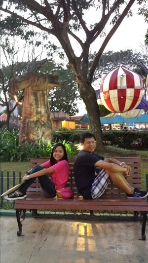 Me and my eldest daughter at Enchanted Kingdom... :) Relaxing Enjoying Life Hanging Out